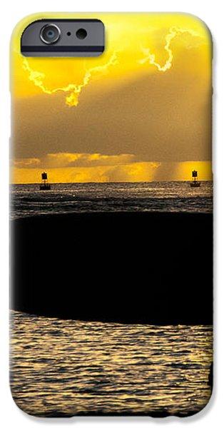 Surfer Dude iPhone Case by Juli Scalzi