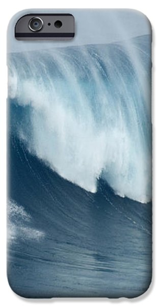 Surfing Jaws 5 iPhone Case by Bob Christopher