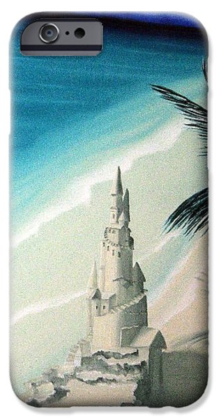 Sand Castles iPhone Cases - Surprise Blessing iPhone Case by Dianna Lewis
