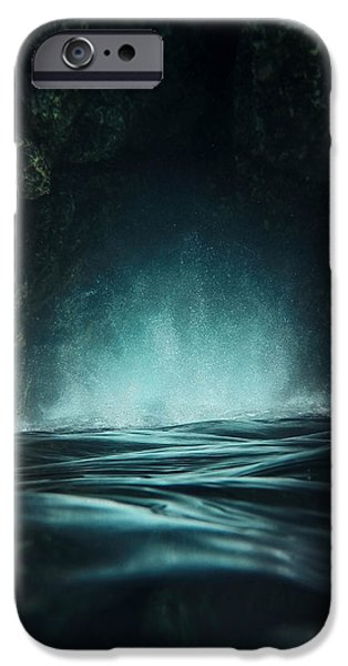 Mysterious iPhone Cases - Surreal Sea iPhone Case by Nicklas Gustafsson