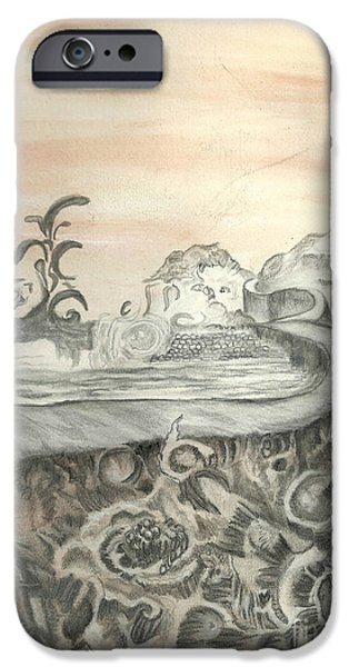 Surreal View iPhone Case by Angela Pelfrey
