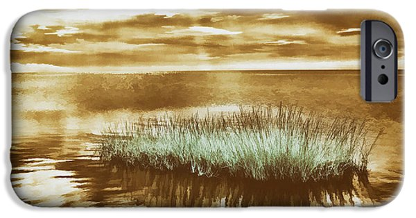 Pamlico Sound iPhone Cases - Surrounded iPhone Case by Dan Carmichael