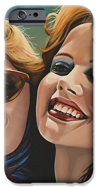 Susan Sarandon and Geena Davies alias Thelma and Louise iPhone Case by Paul  Meijering