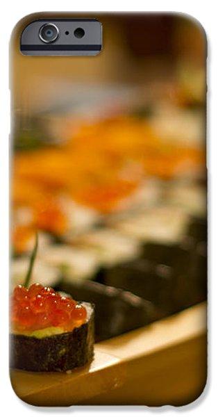 Sushi Heaven iPhone Case by Evelina Kremsdorf
