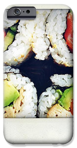 Sushi iPhone Case by Les Cunliffe
