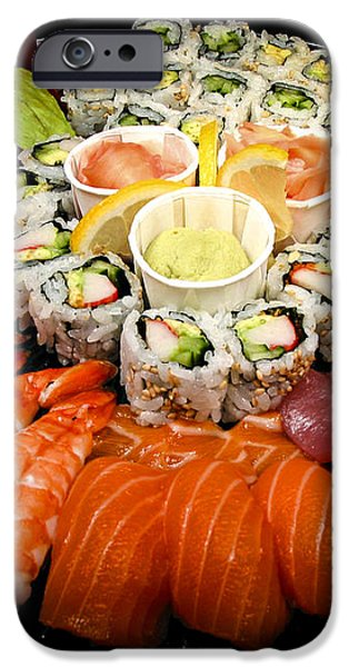 Sushi party tray iPhone Case by Elena Elisseeva