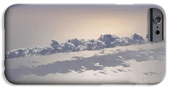 Clouds Tapestries - Textiles iPhone Cases - Suspended iPhone Case by Debi Dmytryshyn