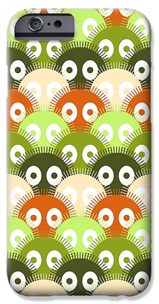 Fuzzy Digital iPhone Cases - Susuwatari Pattern Color iPhone Case by Freshinkstain