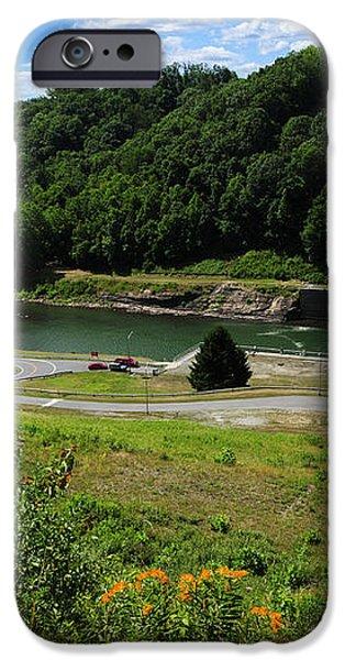 Sutton Dam iPhone Case by Thomas R Fletcher