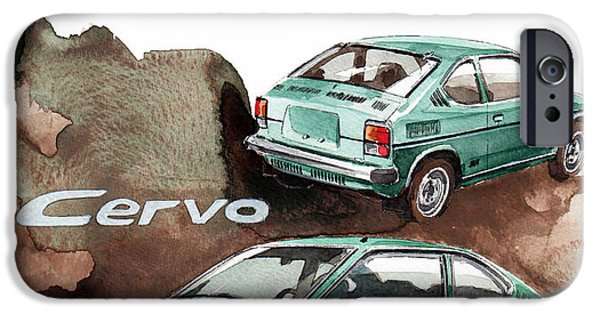 Suzuki iPhone Cases - Suzuki Cervo iPhone Case by Yoshiharu Miyakawa