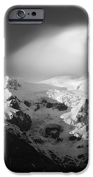 Svinafell Mountains iPhone Case by Dave Bowman