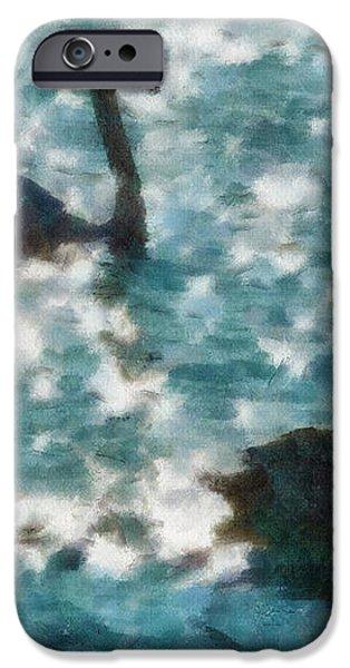 Swan Lake iPhone Case by Ayse Deniz