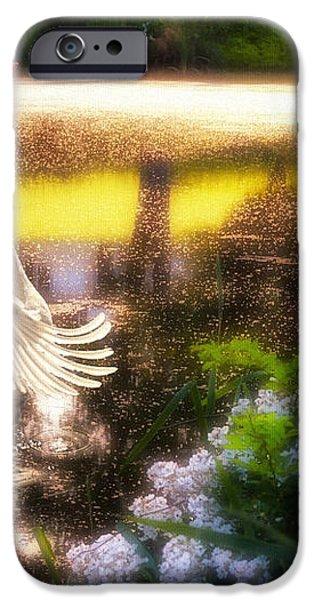 Swan Lake iPhone Case by Lois Bryan