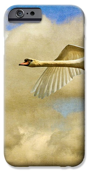 Swan Song iPhone Case by Lois Bryan