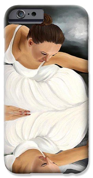 Swans iPhone Case by Sydne Archambault