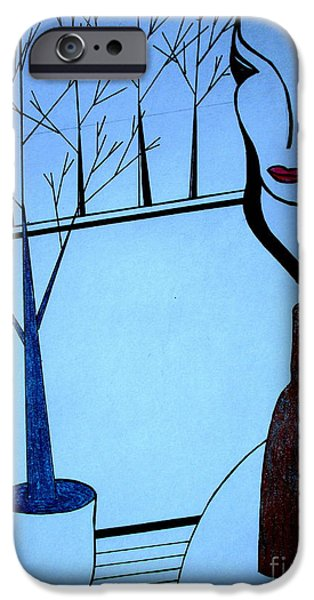 Norway Pastels iPhone Cases - Swedish Winter iPhone Case by Bill OConnor