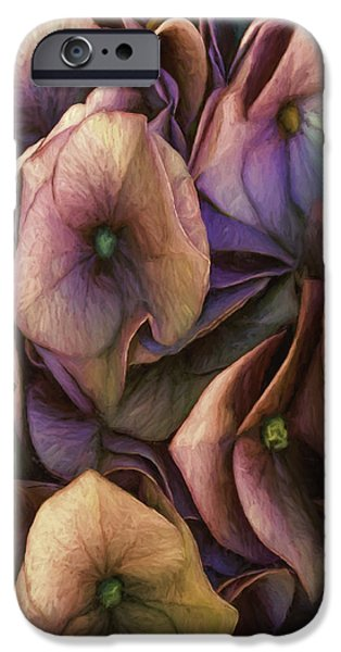 Abstract Digital iPhone Cases - Sweeping iPhone Case by Jean OKeeffe Macro Abundance Art