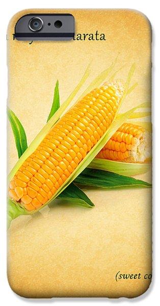 Sweet Corn iPhone Cases - Sweet Corn iPhone Case by Mark Rogan