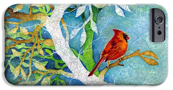 Cardinal iPhone Cases - Sweet Memories I iPhone Case by Hailey E Herrera
