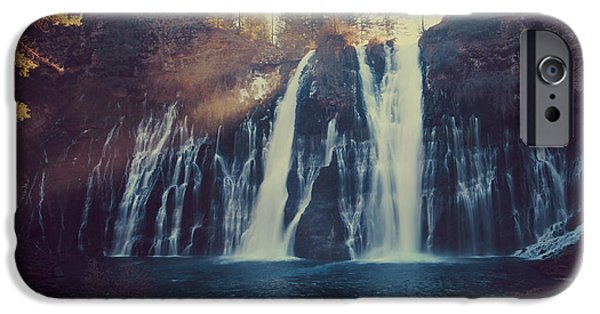 Water Flowing iPhone Cases - Sweet Memories iPhone Case by Laurie Search