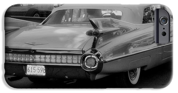 Collectible Mixed Media iPhone Cases - Sweet Old Cadillac iPhone Case by Todd and candice Dailey