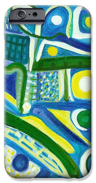 Free Form Paintings iPhone Cases - Sweet Reunion iPhone Case by Stephen Lucas