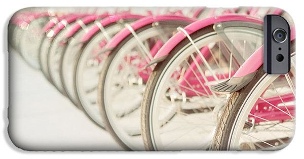 Girls In Pink iPhone Cases - Sweet Rides iPhone Case by Amy Tyler