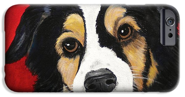Debi Pople iPhone Cases - Sweet Scout iPhone Case by Debi Starr