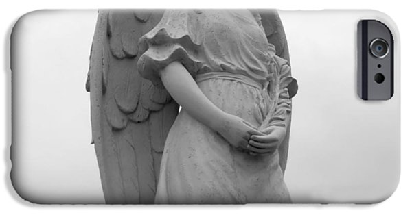 Seraphim Angel iPhone Cases - Sweet Seraphim iPhone Case by Rachel E Moniz