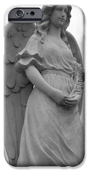 Sweet Seraphim iPhone Case by Rachel E Moniz
