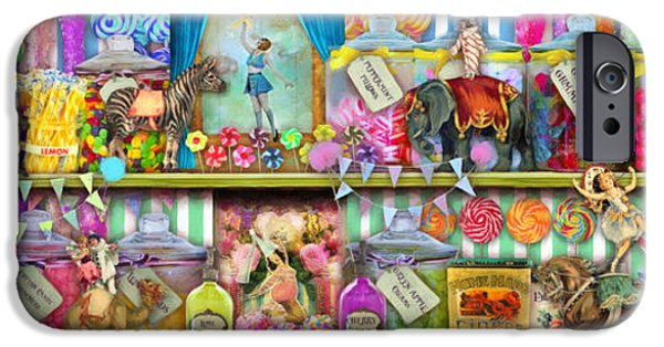 Cheap iPhone Cases - Sweet Shop Panoramic iPhone Case by Aimee Stewart