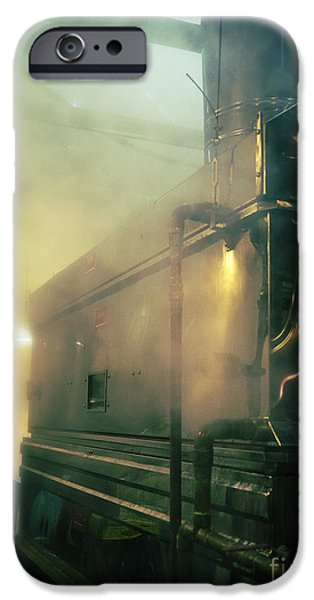 Boiled iPhone Cases - Sweet Steam iPhone Case by Edward Fielding