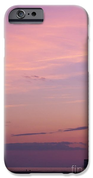 Sunset iPhone Cases - Sweet Sunset iPhone Case by Angela Doelling AD DESIGN Photo and PhotoArt
