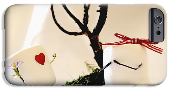 First Love iPhone Cases - Sweet Surprise iPhone Case by Heather Applegate