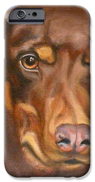Sweetest Rescue iPhone Case by Susan A Becker