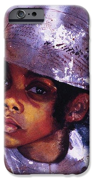 Sweetpea iPhone Case by Cheryl Foster