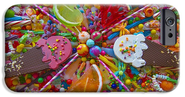Hard Candies iPhone Cases - Sweets 1 iPhone Case by Aimee Stewart