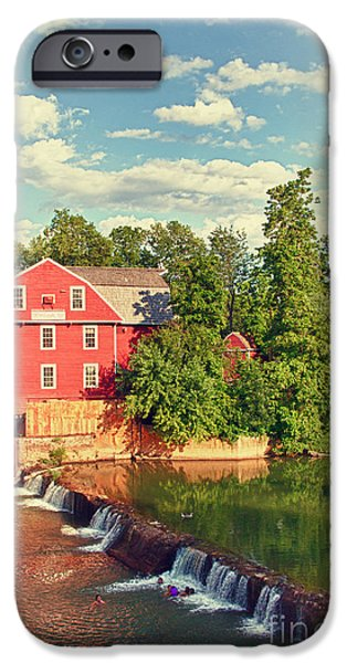 Arkansas iPhone Cases - Swimming At War Eagle iPhone Case by Robert Frederick