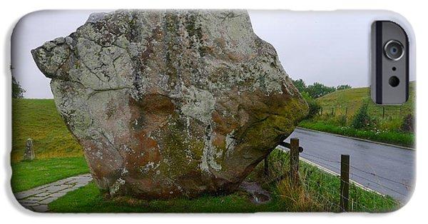 Swindon iPhone Cases - Swindon Stone iPhone Case by Denise Mazzocco