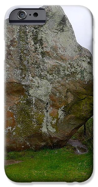 Swindon Stone iPhone Case by Denise Mazzocco