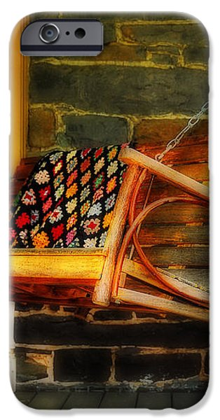 Swing Me iPhone Case by Lois Bryan