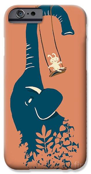 Swing Swing iPhone Case by Budi Satria Kwan