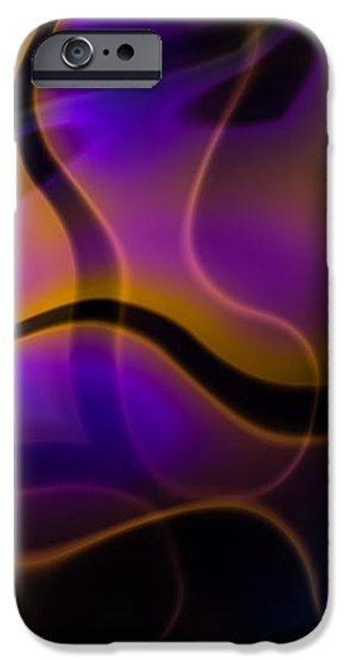 Swirly Bits iPhone Case by Hakon Soreide