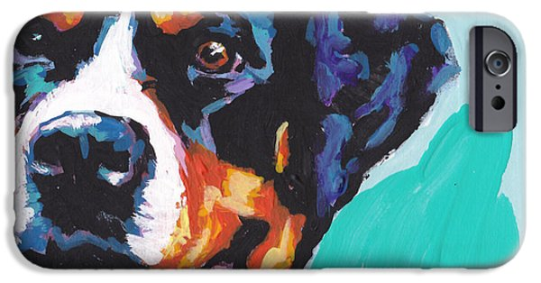 Pup iPhone Cases - Swiss Miss iPhone Case by Lea