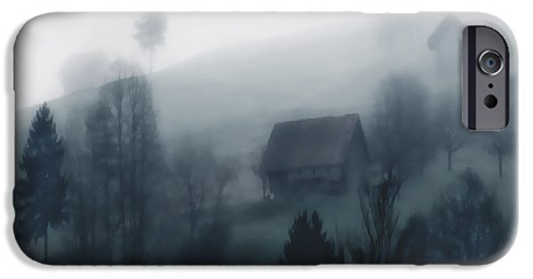 Grindelwald iPhone Cases - Swiss Mist iPhone Case by Barbara D Richards