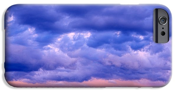 Thunderhead iPhone Cases - Switzerland, Clouds, Cumulus, Storm iPhone Case by Panoramic Images