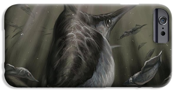 Redfish iPhone Cases - Sword Fish  iPhone Case by Yusniel Santos