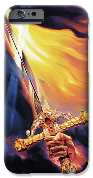 Sword of the Spirit iPhone Case by Jeff Haynie