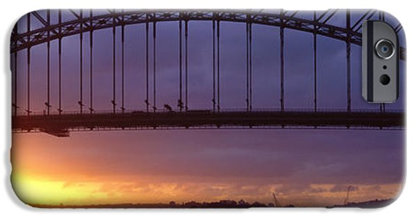 Connection iPhone Cases - Sydney Harbor Bridge, Sydney, New South iPhone Case by Panoramic Images