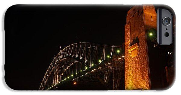 Bay Bridge iPhone Cases - Sydney Harbour Bridge iPhone Case by Justin Woodhouse